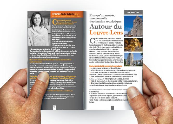 GUIDE TOURISME nord pas de calais 2013 louvre-lens interview