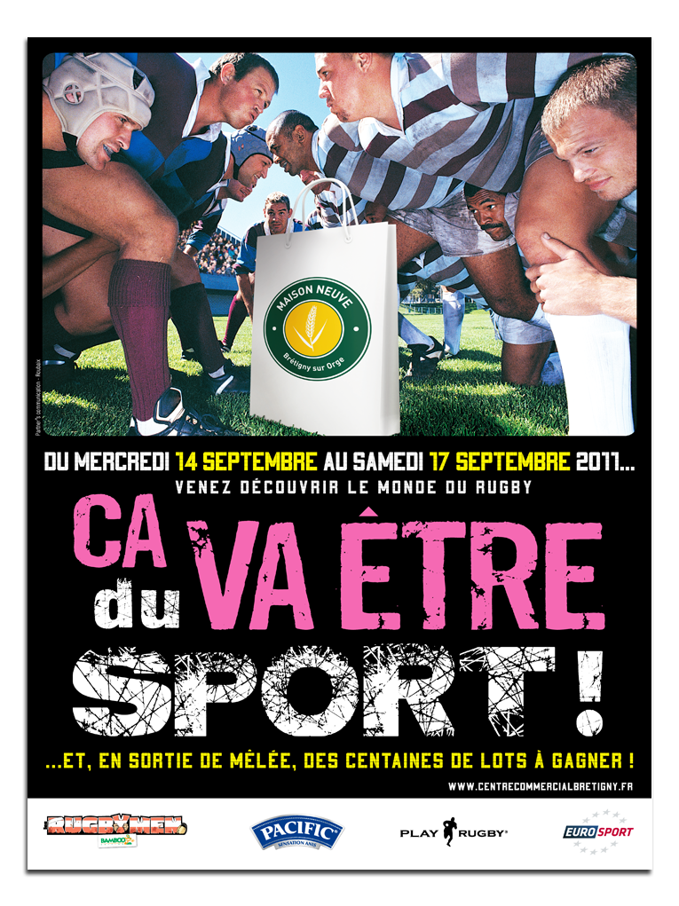 affiche AUCHAN RUGBY