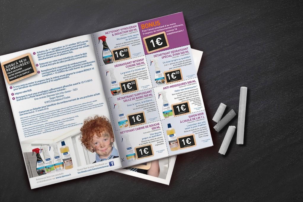 leaflet couponing rentrée