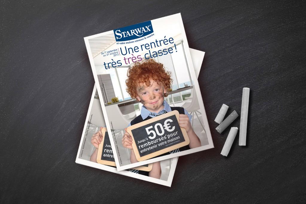leaflet rentrée couponing