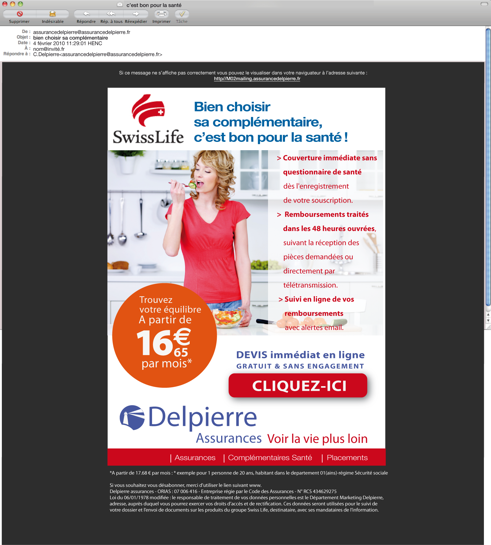 e-mailing Delpierre 2011
